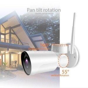 Image 3 - Drahtlose 1080P 2MP Mini PTZ IP Kamera WIFI Außen Onvif Audio P2P CCTV Sicherheit Wasserdichte Gewehrkugel Kamera Cam 2,7  13,5mm 5x Zoom
