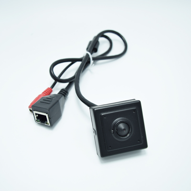Mini câmera ip 1.0MP ONVIF HD 720 P H.264 P2P Vigilância CCTV IP Câmera 3.7mm MIni lente Do Telefone Móvel