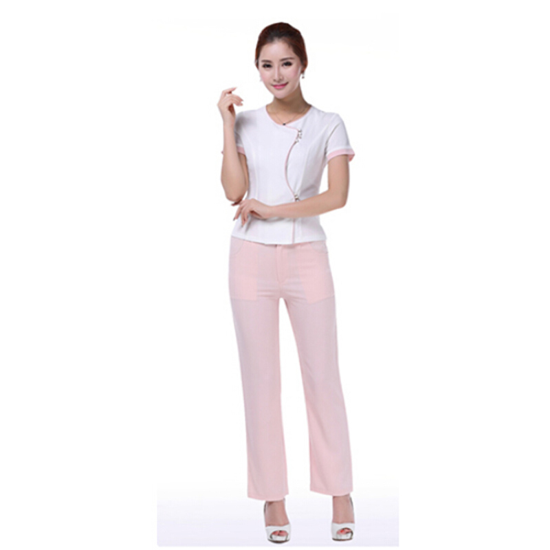 Free shipping new style uniforms hospital uniform women for Spa uniform policy