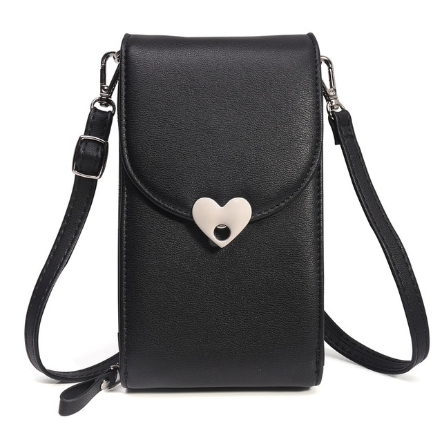 buy popular 0cf50 be149 US $15.44 42% OFF Lady Pouch Women Bag Case For iPhone XS Max XR X Luxury  PU Leather Mobile Phone Bag For iPhone 8 Plus 7 6 6S Plus 5s Cases EEMIA-in  ...