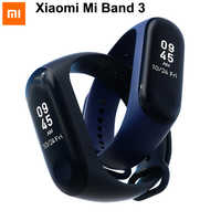 Origina Xiaomi Mi Band 2 Mi Band 3 Smart Wristband MiBand 3 Big Touch Screen OLED Message Fitness Heart Rate Time Smart Band