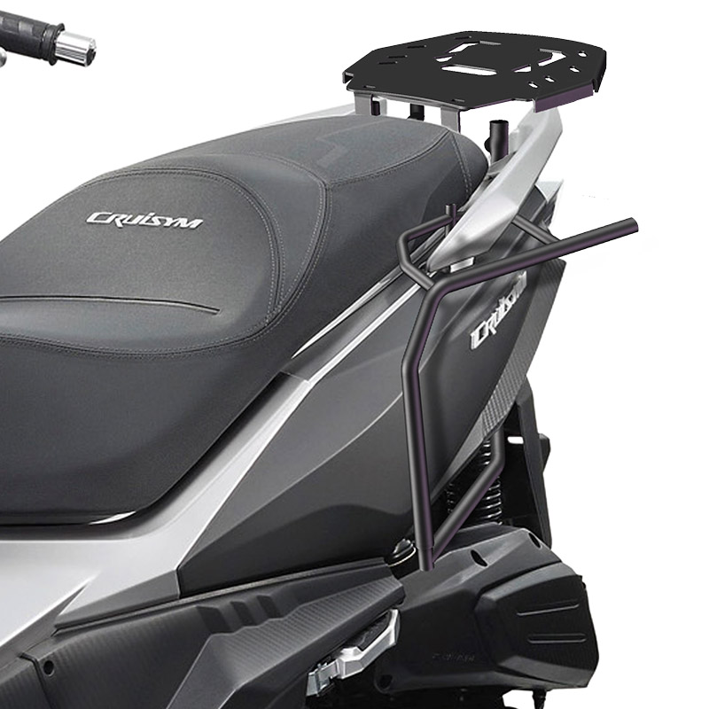 for SYM CRUISYM 300 SHAD SH23 SH36 Motorcycle Luggage Side Case Box Rack Bracket Carrier System ремень sym jp150 gr125 xs125t 17