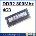 Марка 4 ГБ 8 ГБ ddr2 800 PC2-6400 sodimm памяти ноутбук, Memoria оперативной памяти ddr2 4 ГБ 800 мГц pc2 6400 SO-DIMM ноутбук