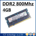 Marca 4 gb 8 gb ddr2 800 sodimm memória PC2-6400 laptop, Memoria ram ddr2 4 gb 800 Mhz pc2 6400 SO-DIMM notebook