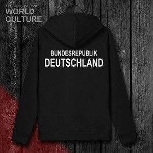 Image 3 - ドイツドイツドイツデメンズトレーナーパーカー冬ジッパーカーディガンユニフォームコート男性ジャケット国家服トラックスーツ