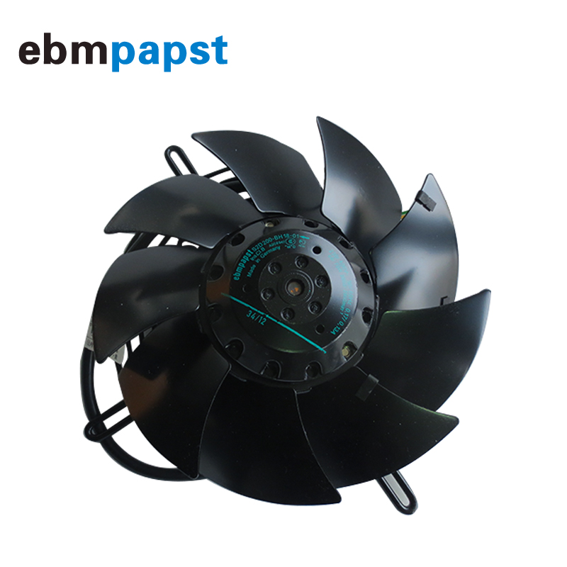Germany brand new original axial outflow <font><b>rotor</b></font> fan <font><b>200mm</b></font> 0.17A 68w 400V S2D200-BH18-01 axial fan image