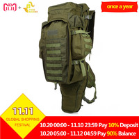 Free Knight 60L Outdoor Military Backpack USMC Army Military Tactical Backpack Travel Hiking Rucksack Hunting Camping Bag 5Color