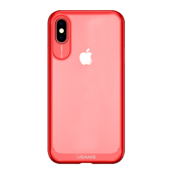 iPhone X Case Red Silicone