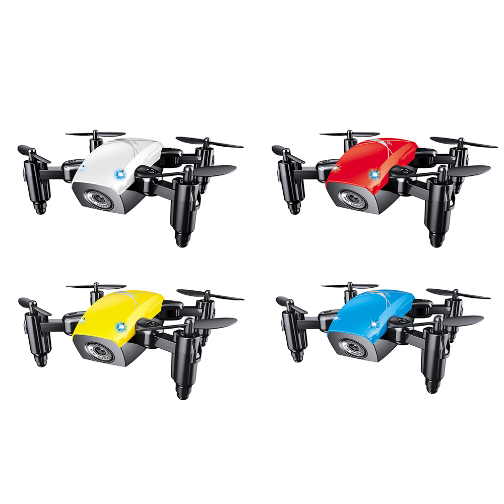 Mini Drone With Camera S9 3D Rollover Flying Remote Control Quadcopter Toys Drones Altitude Hold RC Helicopters WiFi Dron Gifts