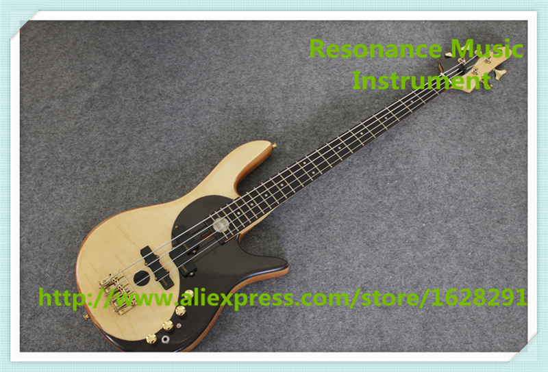 New Arrival China 4 String Fodera Yin Yang Electric Bass Guitar With China Ash Solid Body For Sale As Picture free delivery of yin and yang new electric guitar can be customized bass bass