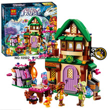 Bela Elves The Starlight Inn Building Block the Sky Captain Azari Fire dancer Minifigures Toy Legoes