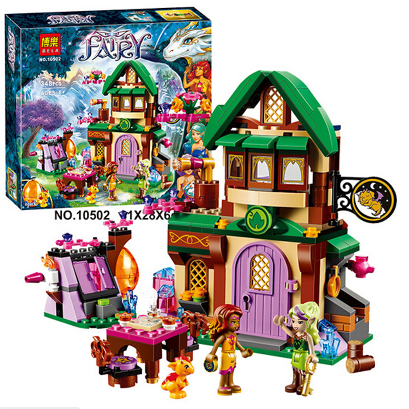 Bela Elves The Starlight Inn Building Block the Sky Captain Azari Fire dancer Minifigures Toy font