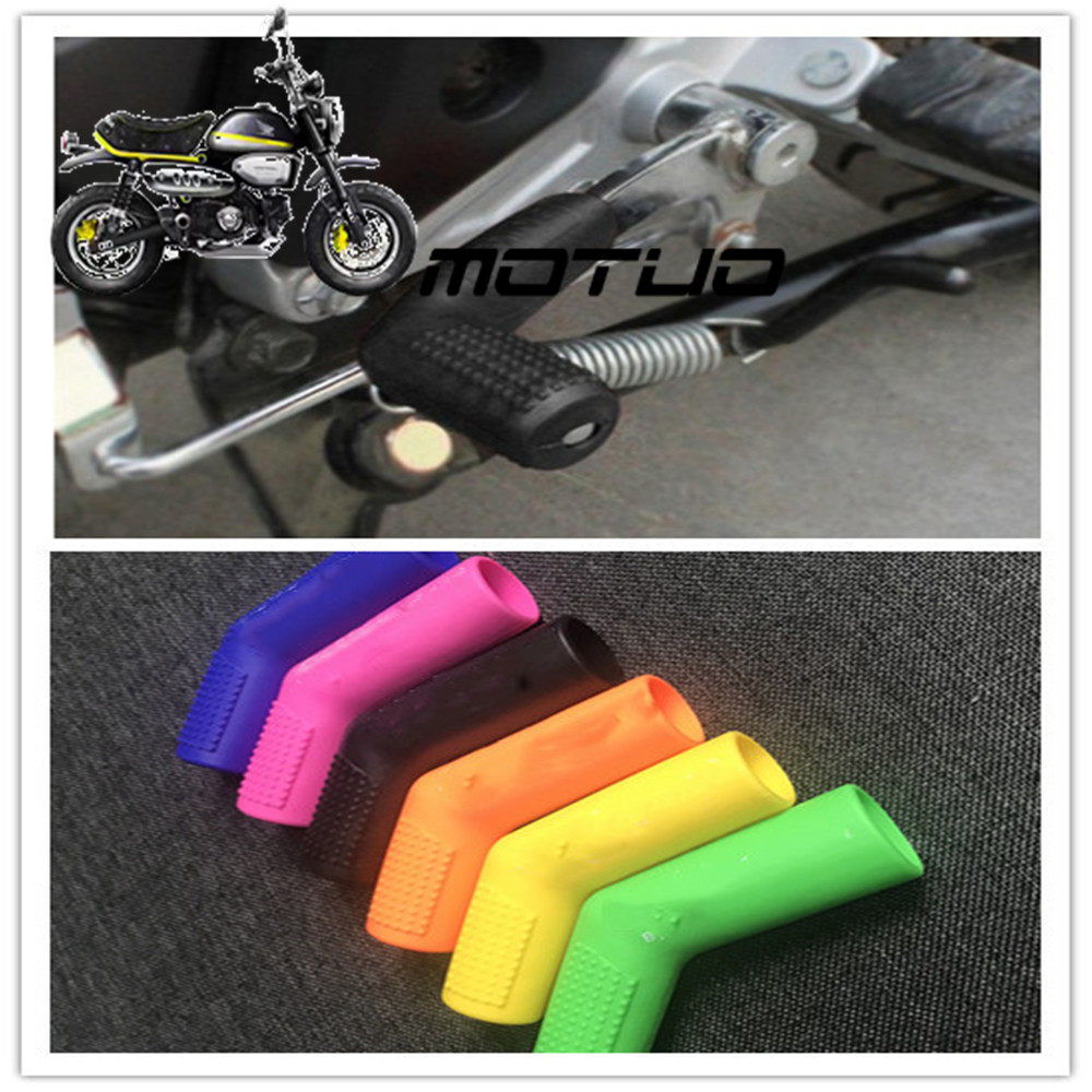 Motorcycle Gear Lever Notch Set Refires Protective Cover Shift Lever Sleeve Modification Accessories Logo Strengthening Waist And Sinews