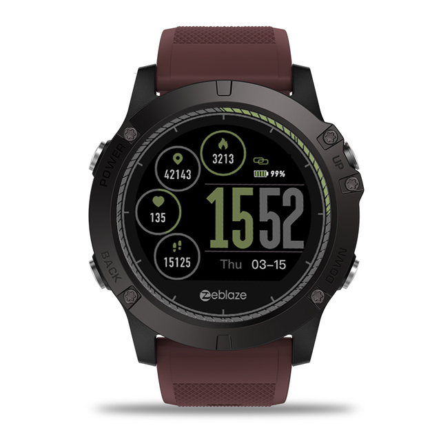 VIBE 3 HR Smart Watch IPS Color Display Sports Smartwatch Heart Rate Monitor Waterproof Smart Watch Men For IOS&Android