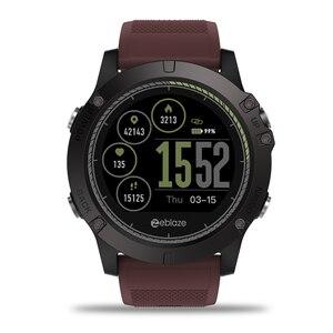 Image 4 - Новый Zeblaze VIBE 3 HR ips Цвет Дисплей спортивные умные часы монитор сердечного ритма IP67 Водонепроницаемый Смарт часы Для мужчин для IOS и Android