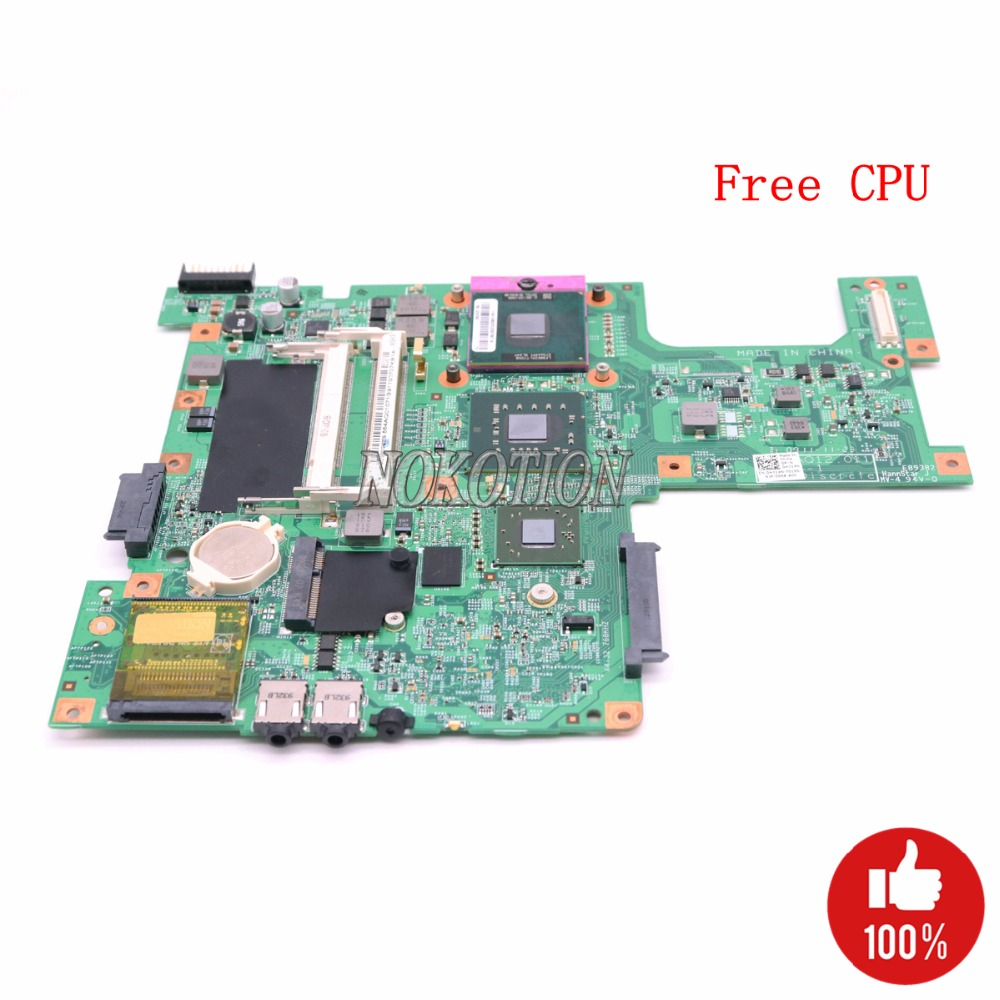 NOKOTION Laptop Motherboard For Dell inspiron 1545 PM45 HD4570M DDR2 H314N 0H314N CN 0H314N 48.4AQ12.011 Free CPU