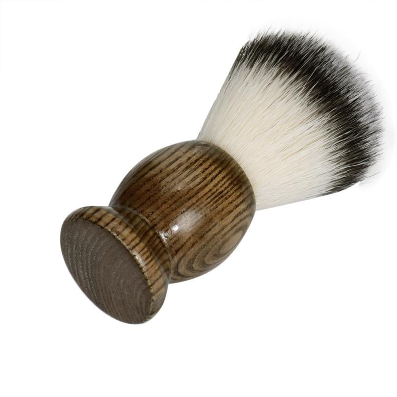 New Sexy Men Shaving Beard Brush Best Badger Hair Wooden Handle Shave Black Barber Tool black 3JY10 2