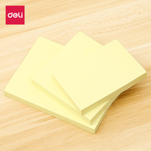 Deli Multicolor Sticky Notes Cute Love Memo Pads Sticker Post It Bookmark Marker Flags Planner Pepsi paste office notes paper
