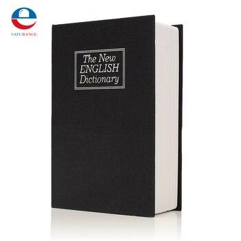 Nowy Metal + papier płyta słownik Book tajemnica ukryta bezpieczeństwa bezpieczny zamek kluczowy Cash Money szafki biżuterii trwała jakość