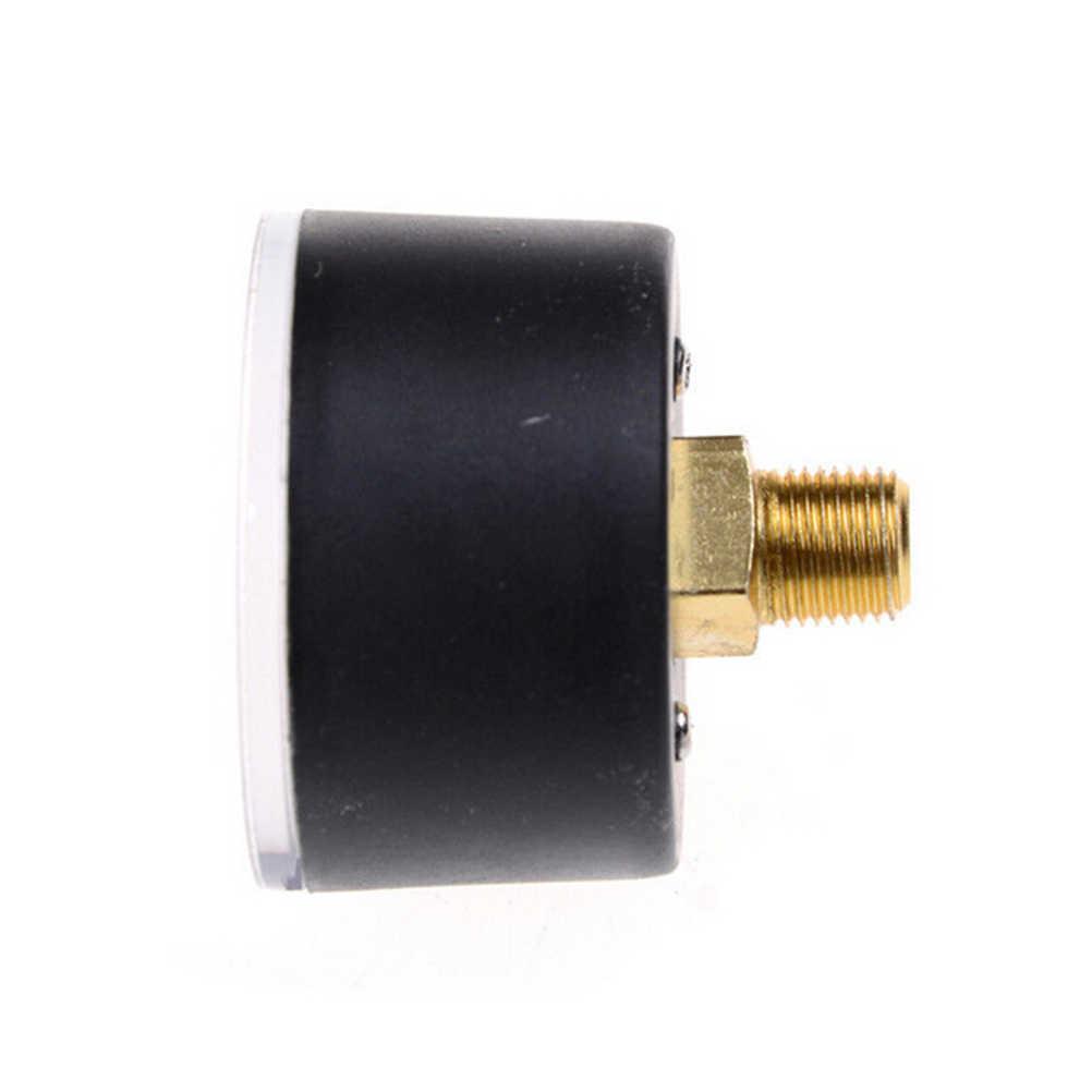 1 barra medidor de presión de aire 9mm rosca 0-180 PSI 0-12 manómetro Doble escala para compresor de aire de hierro