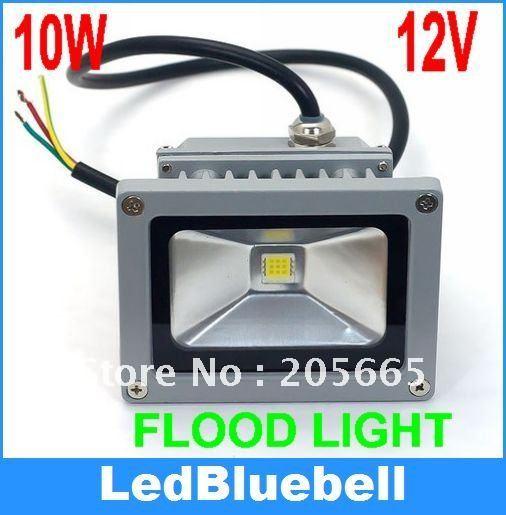 LED 10W Waterproof Outside Garden Landscape Yard Floodlight DC 12V