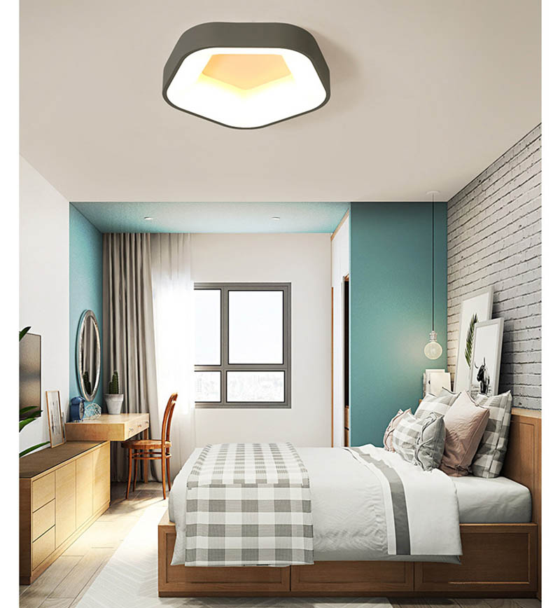 Home Light Led Ceiling Mounted surface Lamp With remote control For Dimmer Cold White Nature White For Living Room BedroomHome Light Led Ceiling Mounted surface Lamp With remote control For Dimmer Cold White Nature White For Living Room Bedroom