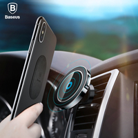 Baseus Car Magnetic Qi Wireless Charger For IPhone X 8 Samsung Note 8 S8 S7 Fast