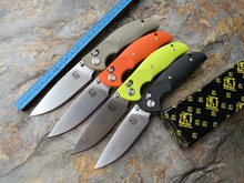 2016 new JIAHENG F3 Bearing system Floding knife D2 blade Apple green G10 handle survival hunting camping tool OEM