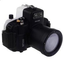 Meikon 40M Waterproof Underwater Camera Housing Case Bag for Nikon D7100