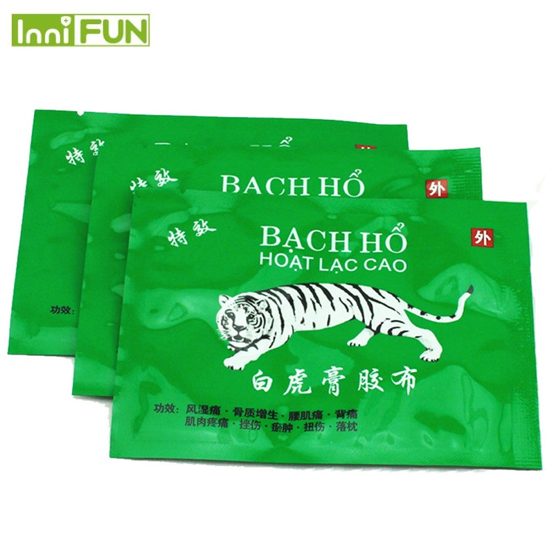 White Tiger Balm Plaster Vietnam Body Neck Massager Massage Relaxation Pain Relief Patch Medical Plaster Health Care D0985