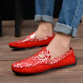 HYLOUTO 2016 Spring Summer New  Red Moccasins Men Shoes Male Casual Shoes Blue Slip on Driving Comfortable Men Loafers Flats
