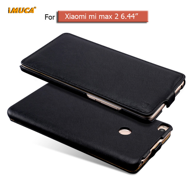 Xiaomi mi max 2 case cover flip leather phone cases for xiaomi mi max 2 max2 iMUCA cover capa