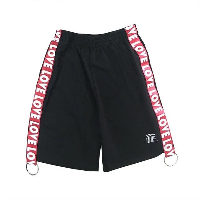 Quality Short Men Casual Summer Big Size Hip Hop Baggy Cargo Men Shorts Summer Elastic Waist Harajuku Bermuda Masculina Ld004