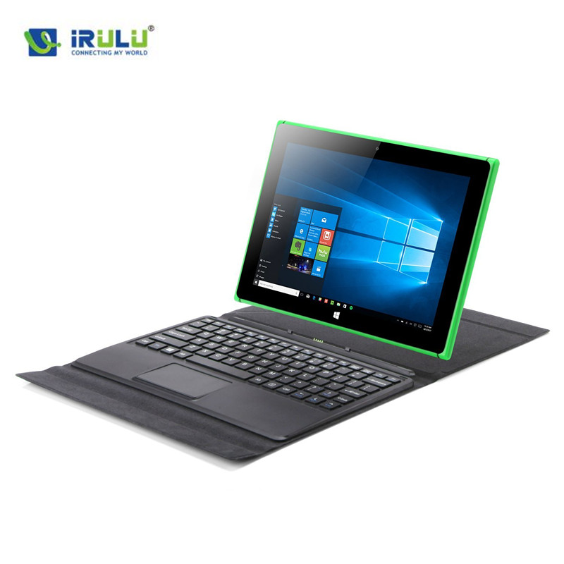 IRULU Walknbook 2-in-1 Tablet/Laptop Hybrid Windows 10 Notebook & Computer Mit Abnehmbarer Tastatur Intel Quad Core 1 T Onedrive