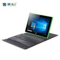 IRULU Walknbook 2 In 1 Tablet Laptop Hybrid Windows 10 Notebook Computer With Detachable Keyboard Intel