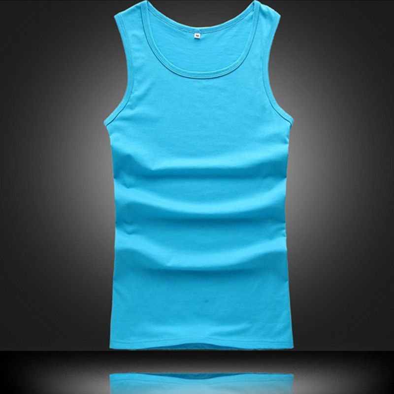 Leisur Mens Jogger Sleeveless Muscle Vest Fitness Undershirts   Tank     Top   JX0147 Free Shipping Drop Shipping