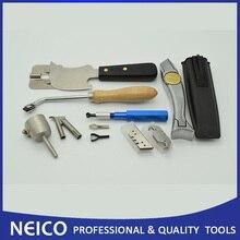 Многократный нарезной станок с ножом Полумесяца и насадкой для сварки ПВХ Виниловый напольный набор для сварки, инструменты для установки полов(9 предметов
