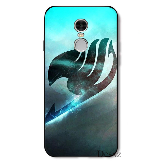 Mobile Phone Case Fairy Tail Coque For Xiaomi Redmi Note 4 4A 4X 5 5A 6 7 GO S2 6A Pro Plus Prime k30 Poco X2 Cover