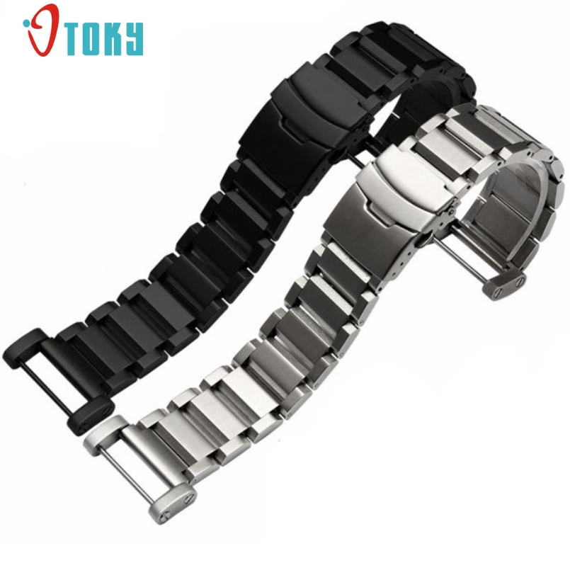 все цены на Excellent Quality For Suunto Core Quick Release Stainless Steel Watchband 24mm Watch Strap For Suunto Core Traverse Bracelet онлайн