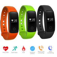 Jingtider V05 Bluetooth Smart Band монитор сердечного ритма Смарт-браслет спорта браслеты фитнес-трекер Шагомер для iOS и Android