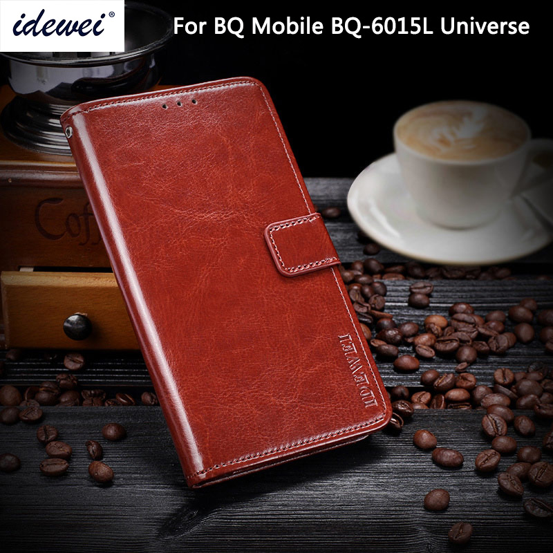 <font><b>BQ</b></font> <font><b>6015</b></font> luxury leather phone case cover for <font><b>BQ</b></font> 6015L universe protective Flip wallet case 6.0