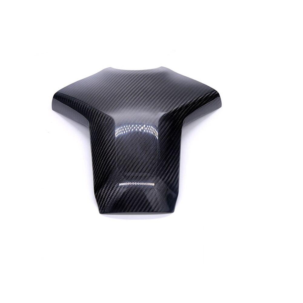Motorcycle Accessories Carbon Fiber Rear Tank Cover Pad Protector For Yamaha MT09 MT-09 MT 09 FZ-09 FZ09 FZ 09 2013-2016 2017 bjmoto motorcycle mt09 fz09 adjustable cnc foot rest peg rear set for yamaha mt 09 fz 09 2013 2014 2015 2016