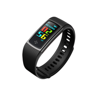S9 Smart Wristband Heart Rate Monitor Color Screen Pedometer Calorie Counting Message Push Smart Bracelet For