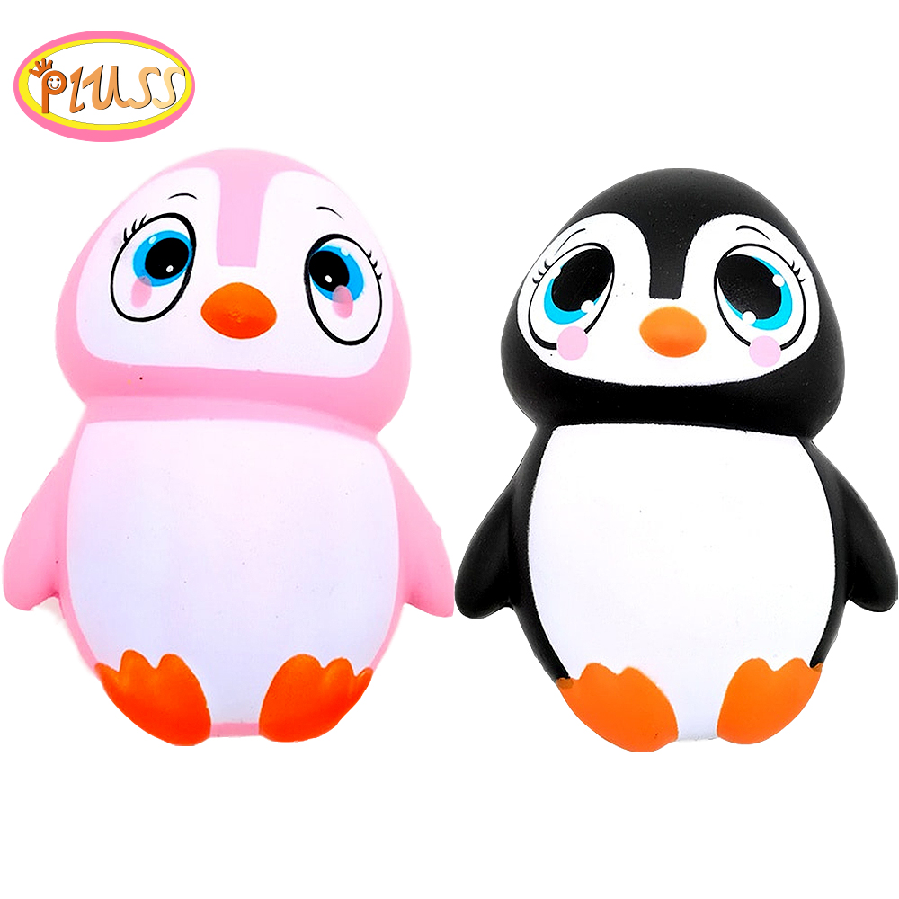 Squishy Penguins Animals Slow Rising Jumbo Squishies Stress Relief Squeeze Toys For Kids Christmas Gift Antistress