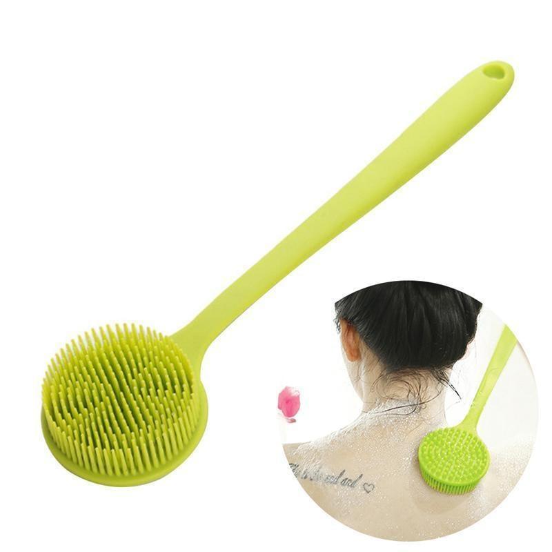 Aliexpress.com : Buy Soft Silicone Body Brush Long Handle ...