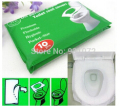 700Packs 7000Pcs/lot Disposable Paper Toilet Seat Covers Camping Festival Travel Loo bathroom set accessories