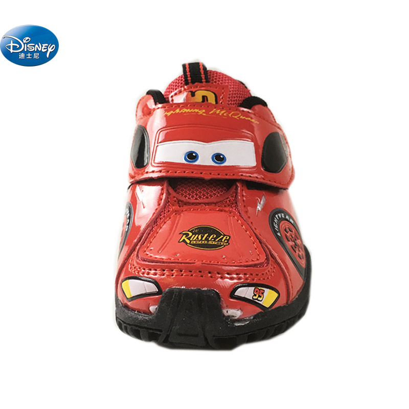2019 New Disney Cars Children Casual Shoes Spring And  Autumn Car Boys Cartoon School Student Sneaker Europe Size 25-29