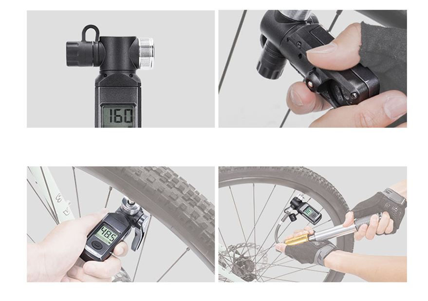 Image 2 - Topeak TSUTG 03 Bicycle Digital SmartGauge Bike Electronic Tire 
