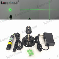 532nm 10mW Green Laser Line Module Locator For Cutter Adapter Mount DC3 5V