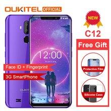 "OUKITEL C12 3g смартфон Face ID 6,1"" 19:9 отпечаток пальца мобильный телефон Android 8,1 MTK6580 четырехъядерный 2 Гб ram 16 Гб rom 3300 мАч разблокировка"